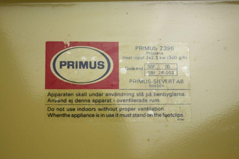 Primus2396 PRIMUS SIEVERT AB Sweden/プリムスバーナー - キャンプ