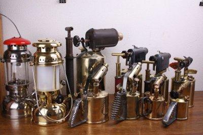 画像1: Primus  No607 BlowTorch lamp /プリムス ブロートーチランプ