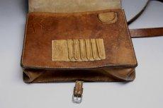 画像8: Vintage Military Leather Bagスウェーデン空軍  ショルダーバッグ/Sweden (8)