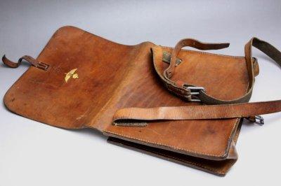 画像2: Vintage Military Leather Bagスウェーデン空軍  ショルダーバッグ/Sweden