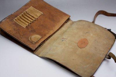 画像3: Vintage Military Leather Bagスウェーデン空軍  ショルダーバッグ/Sweden