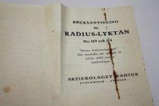 画像19: Radius 115 Army ラディウス 軍用 ランタン 未使用/Sweden (19)