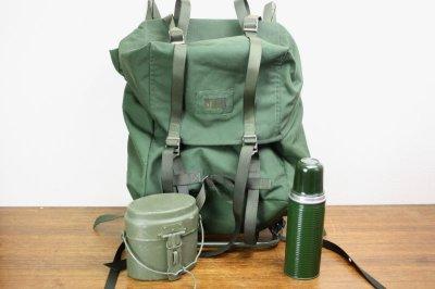画像1: Backpackスウェーデン軍 バックパック リュックサック フレーム付き