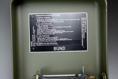 画像1: HEINZE GENIOL ゲニオール ミリタリーストーブ コンプリート 未使用品/ドイツ