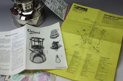 画像3: Optimus1200 kerosene lantern Sweden/オプティマス ランタン未使用