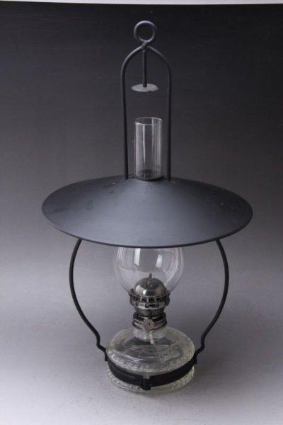 画像1: Antique oil lamp Sweden/スウェーデン アンティーク ランプ