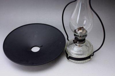 画像2: Antique oil lamp Sweden/スウェーデン アンティーク ランプ