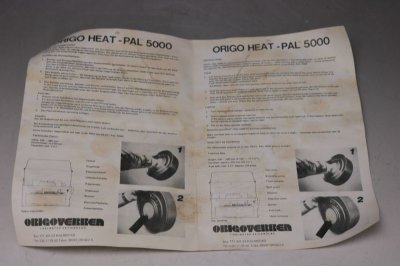 画像3: Origo Heat-Pal オリゴ ヒートパル5000 未使用 /Sweden