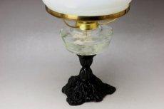 画像5: Antique oil lamp Sweden/スウェーデン アンティーク ランプ (5)