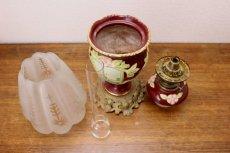 画像8: Antique oil lamp Sweden/スウェーデン アンティーク ランプ (8)