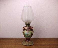画像3: Antique oil lamp Sweden/スウェーデン アンティーク ランプ (3)