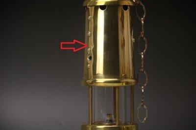 画像1: BRITISH COAL MINING COMPANY WALES U.K LAMP