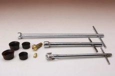 画像2: Burner stove partsバーナーパーツ9点セット/NRV ニップル レンチセット ポンプカップ (2)