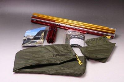 画像1: HEL SPORT FJELLHEIMEN  ヘルスポート テント 3人用/ノルウェー
