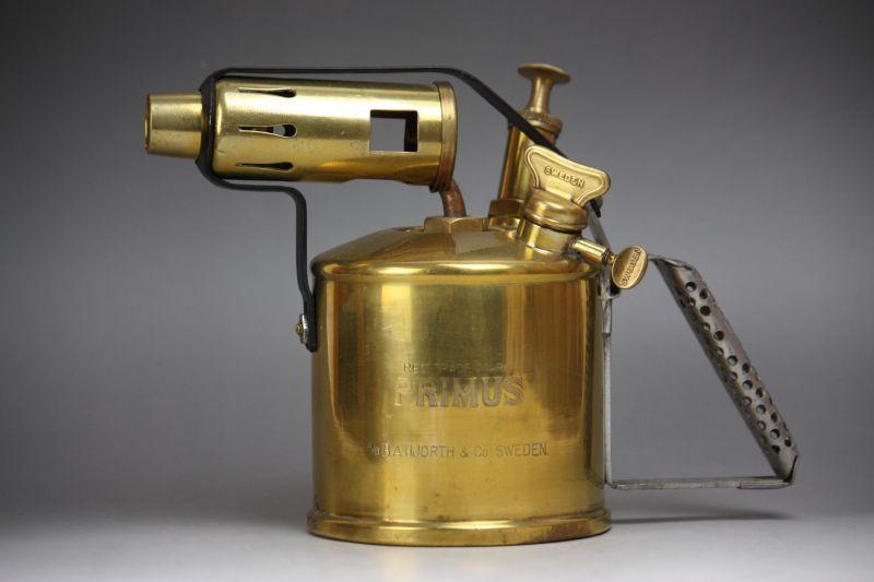 画像1: Primus  No637 BlowTorch lamp B. A. Hjorth & Co/プリムス ブロートーチランプ (1)