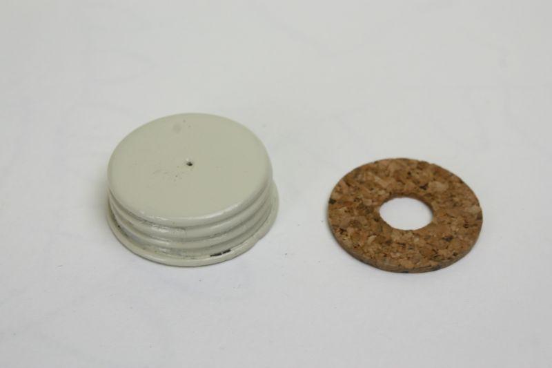 画像1: POD7 ストーブ用 タンクキャップ白/スウェーデン  (1)