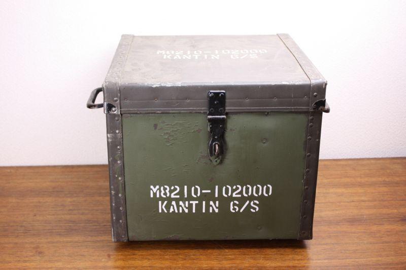画像1: Sweden スウェーデン軍キャンプセット/ケース備品付 (1)