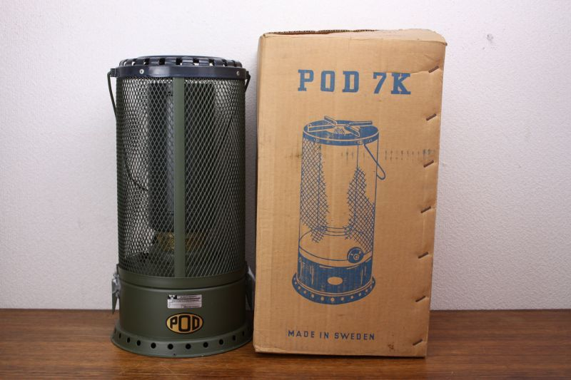 pod 7k heater 軍用ストーブ hor 60 北欧キャンプストーブとアウトドア