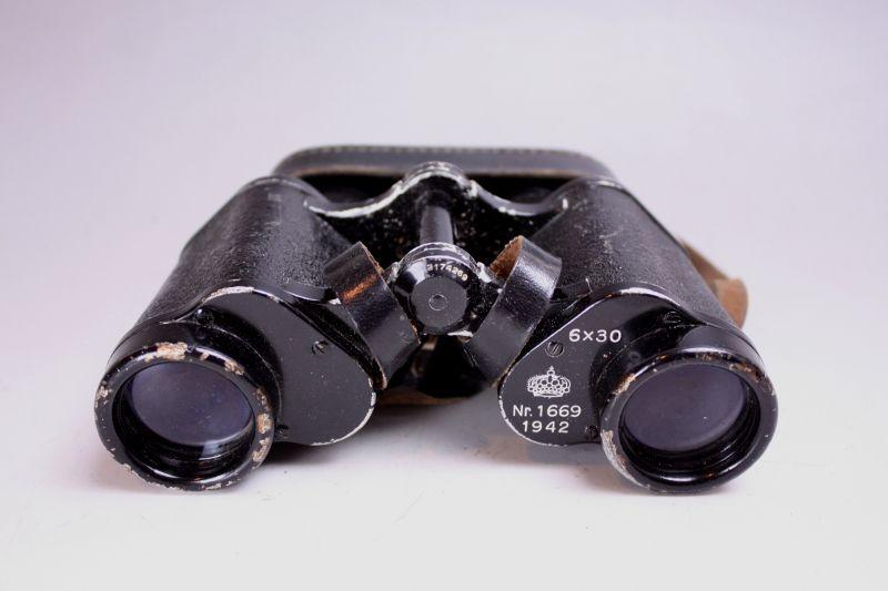 画像1: CARL ZEISS JENA SILVAMAR/カールツァイス 軍用双眼鏡 (1)