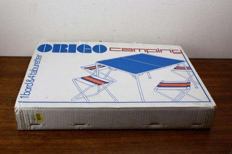 画像1: Origo Camping オリゴ キャンピング テーブルセット /Sweden (1)