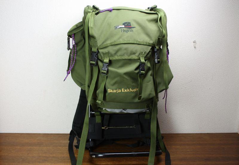 画像1: Haglofs Backpack Skarja Exklusiv ホグロフス バックパック / スウェーデン (1)
