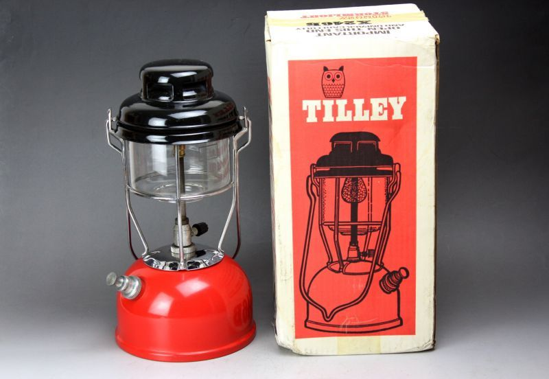 画像1: Tilley X246B ティリーランタン テリー RED イギリス (1)
