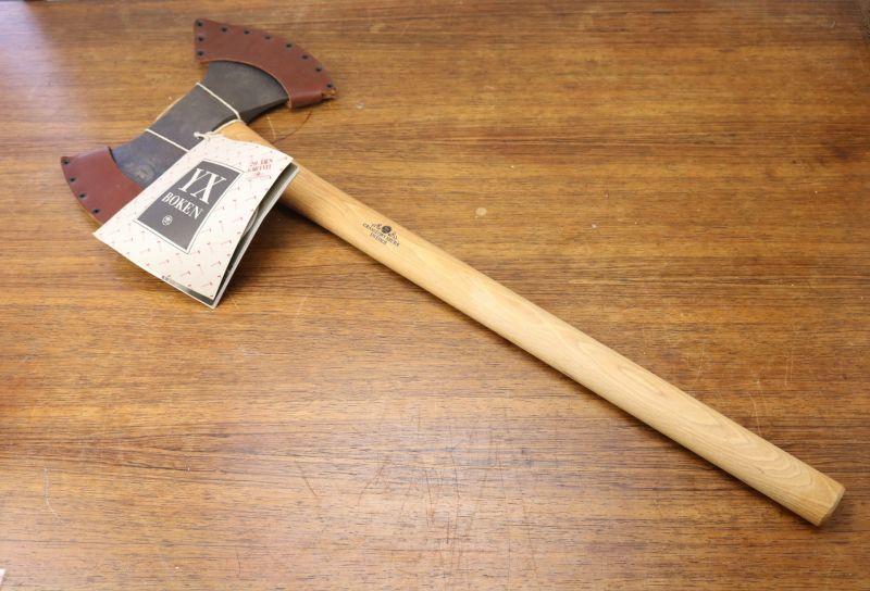 画像1: Gransfors グレンスフォシュ ダブルビット 斧 Throwing Axe SWEDEN (1)