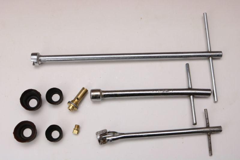 画像1: Burner stove partsバーナーパーツ9点セット/NRV ニップル レンチセット ポンプカップ (1)