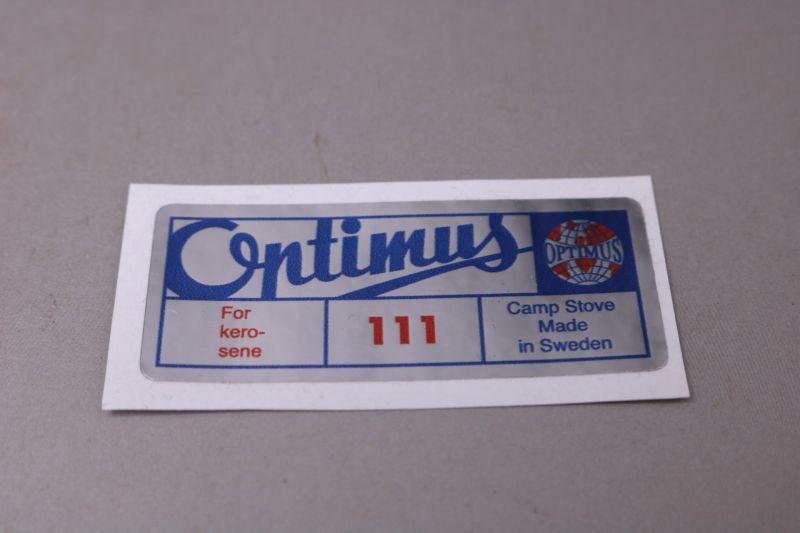 画像1: Optimus111 オプティマス デカール シール (1)