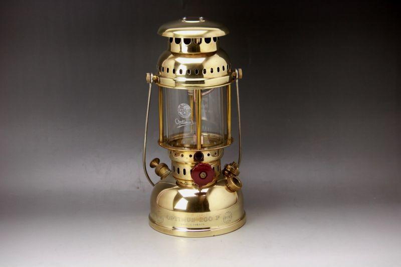 画像1: Optimus 200P  軍用 kerosene lantern Sweden オプティマス ランタン  (1)