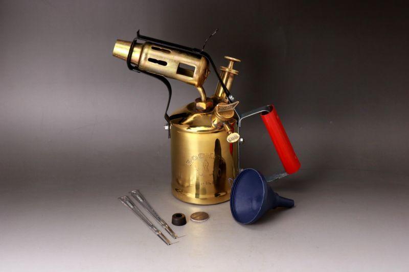 画像1: BlowTorch lamp/ブロートーチ ケロシン 未使用バーナー ランプ (1)