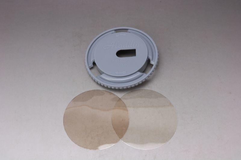 画像1: Aladdin mica &Wick cleaner set/アラジン マイカ2枚 +15型 16LP 芯クリーナー 3点セット  (1)