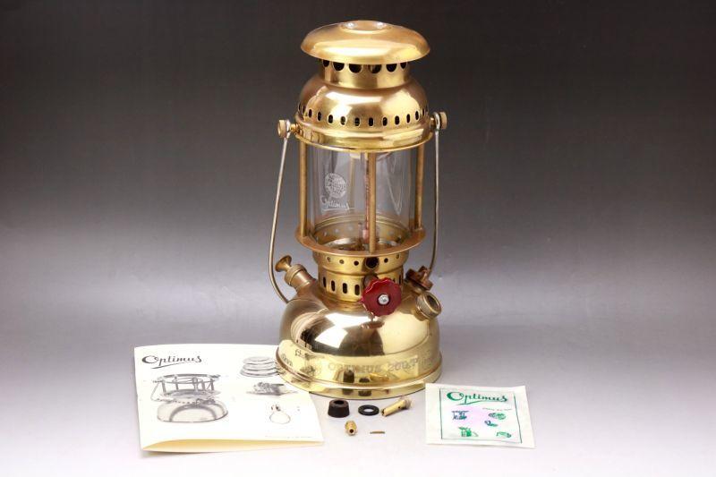 画像1: Optimus 200P  軍用 kerosene lantern Sweden オプティマス ランタン 未使用 (1)