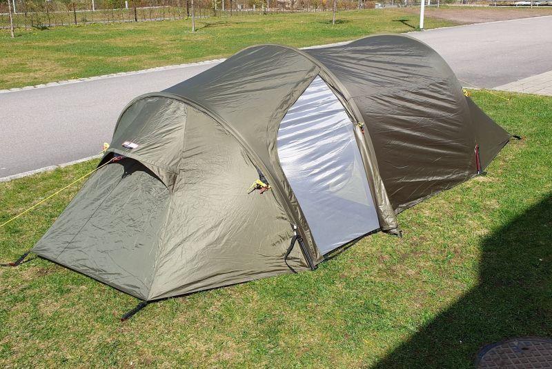 画像1: HEL SPORT FJELLHEIMEN  ヘルスポート テント 3人用/ノルウェー (1)
