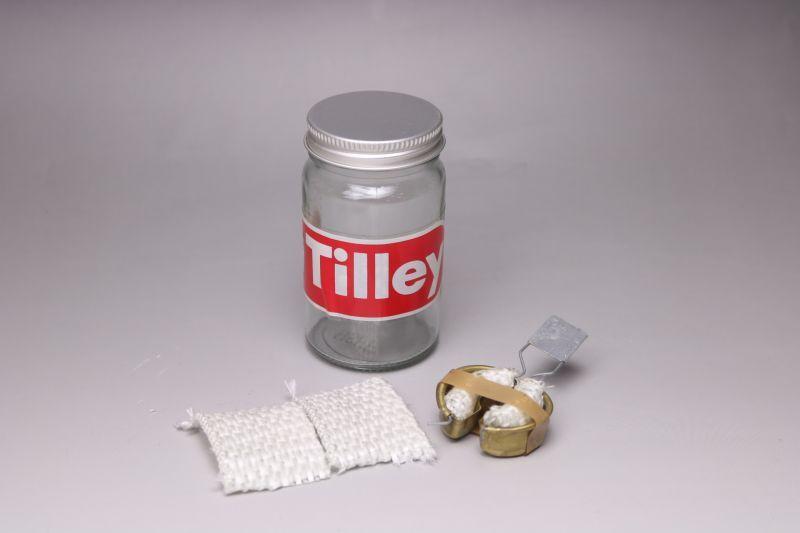 画像1: Tilley ティリー プレヒートトーチカップ&ガラス瓶セット(ウィック 付)/Vapalux (1)